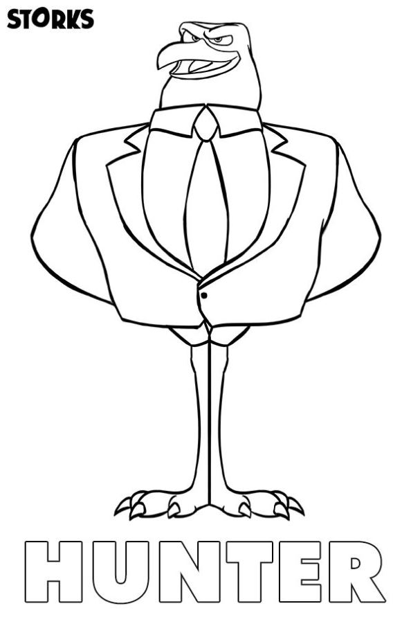 Kids-n-fun.com | 7 coloring pages of Storks