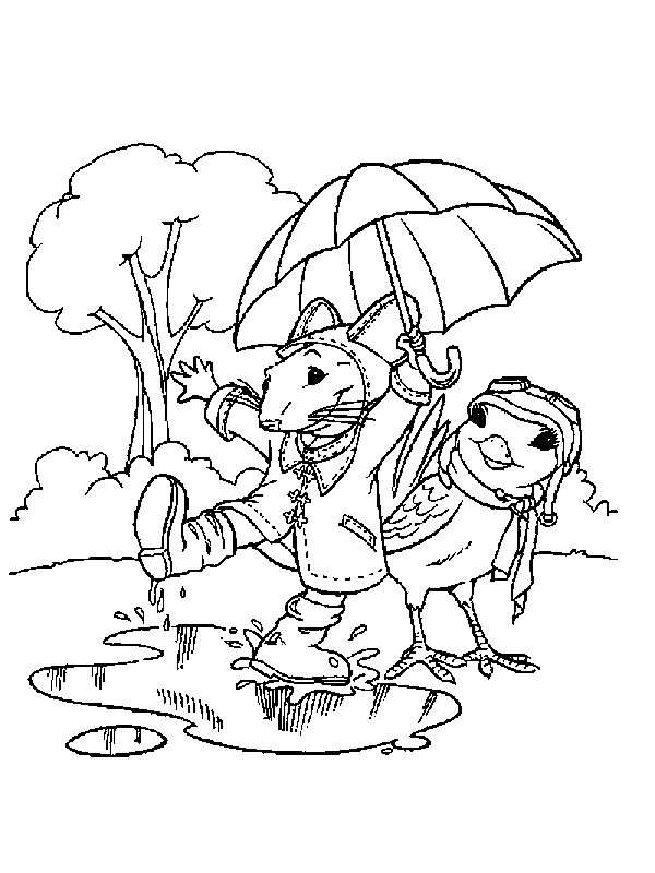 little mouse coloring pages - photo#39