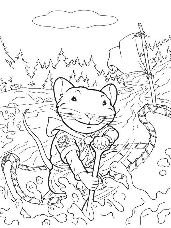 Kids-n-fun.com | 16 coloring pages of Stuart Little