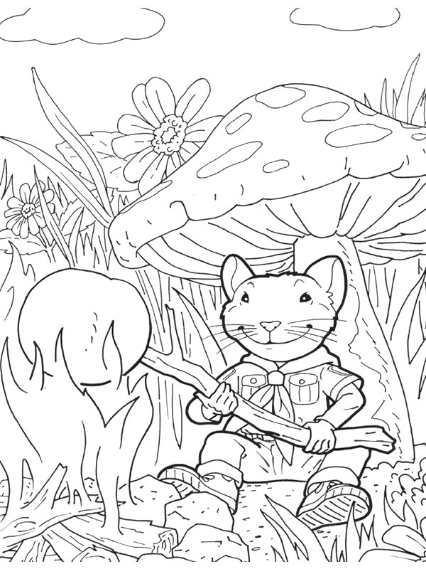 Kids N Fun Com 16 Coloring Pages Of Stuart Little