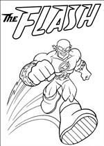 superfriends coloring page the flash running coloring pages - Flash Running Coloring Pages