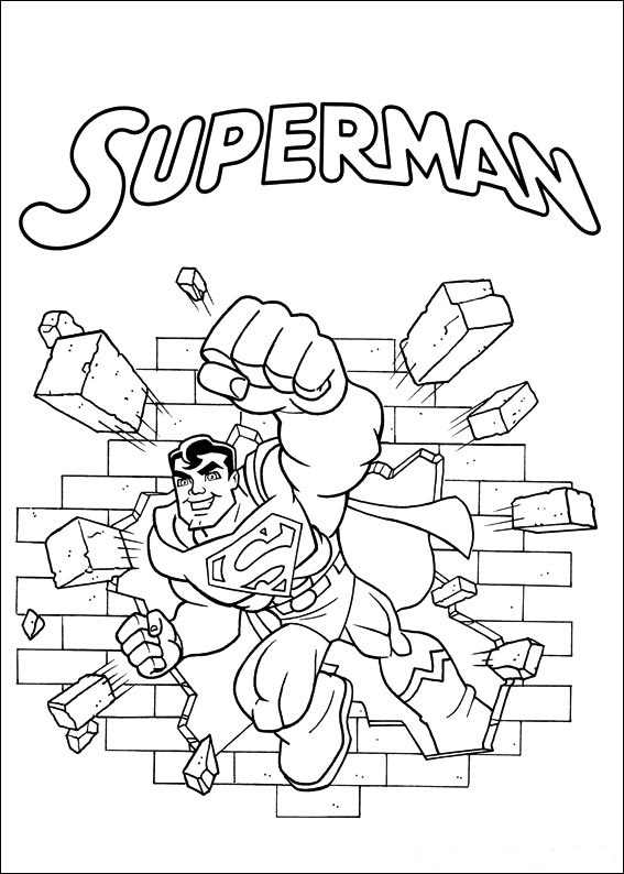 Kids N Fun Co Uk 24 Coloring Pages Of Superfriends Comic Coloring Pages