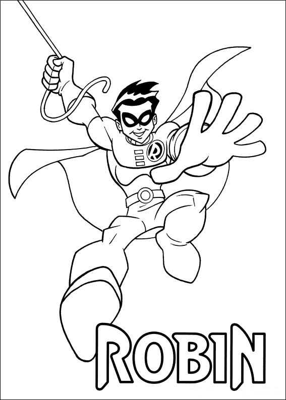 Kids-n-fun.com | 24 coloring pages of Superfriends