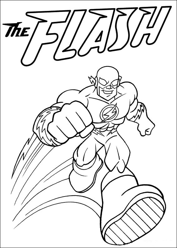 Kids n funcom 24 coloring pages of Superfriends
