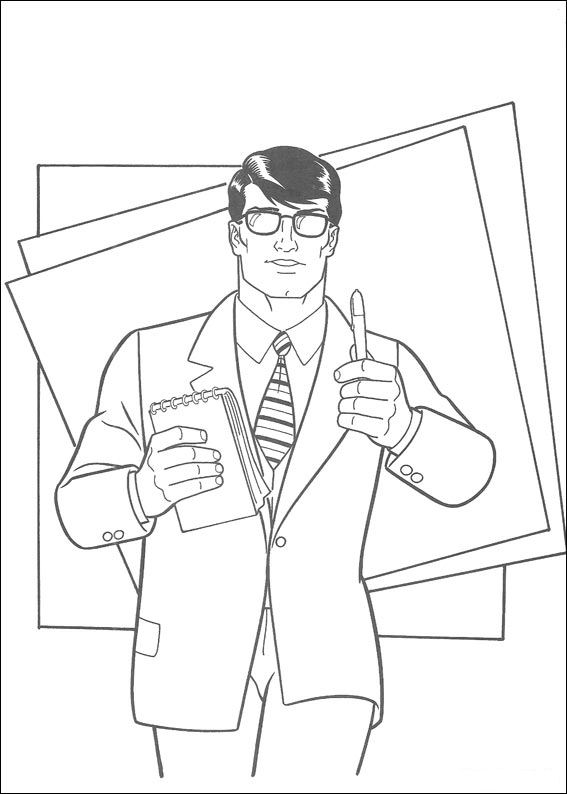 Kids N Fun Com Coloring Page Superman Superman