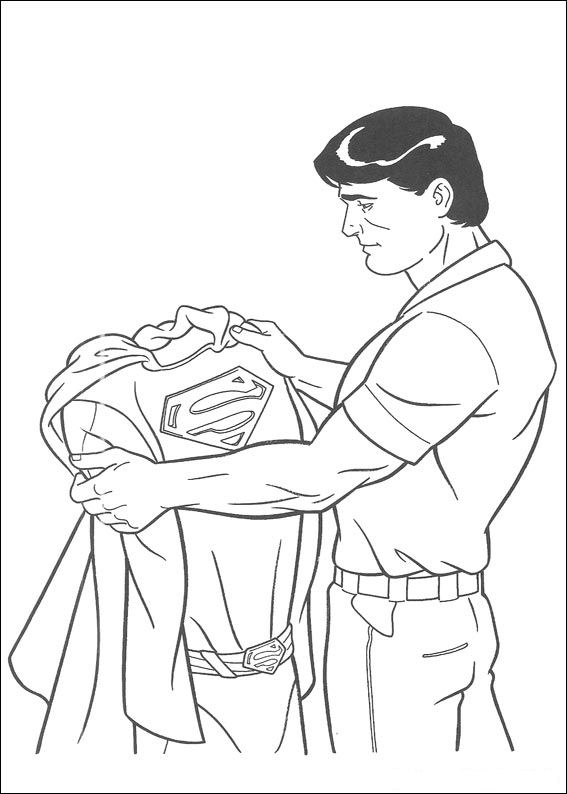 51 superman coloring pages - Superman Coloring Pages