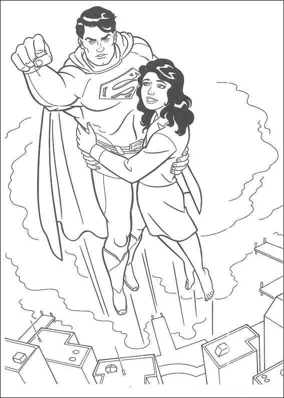 kids n funcom 51 coloring pages of superman - Superman Coloring Pages Kids