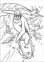 coloring page Surfs up