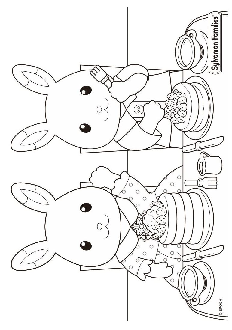 coloring book pages of families - photo#6