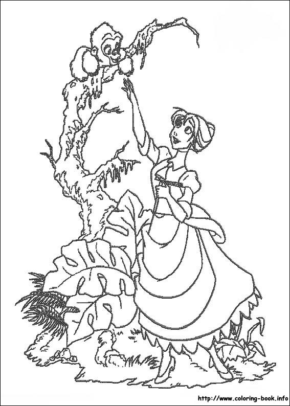 Kids-n-fun.com | 65 coloring pages of Tarzan