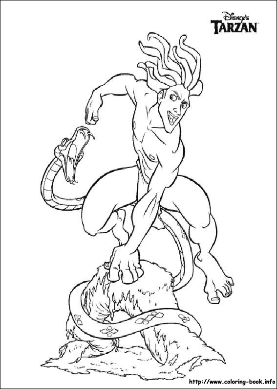 Kids-n-fun.com | 65 coloring pages of Tarzan