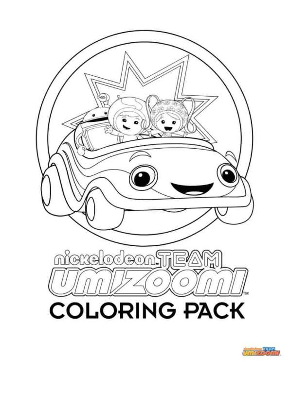 n 9 coloring pages of team umizoomi