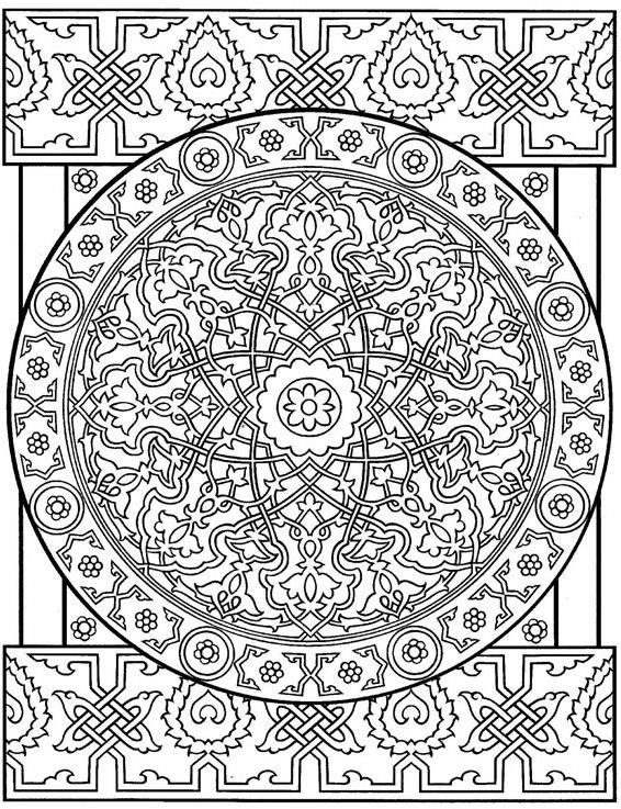 Kids-n-fun.com   Coloring page Tiles Tiles