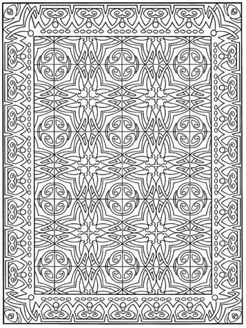 Mosaic Coloring Pages For Kids - Coloring Home | 476x357