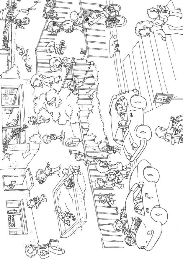 Kidsnfuncom  22 coloring pages of Back to school