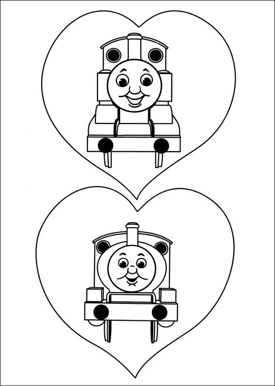 Kidsnfuncouk  56 coloring pages of Thomas the Train