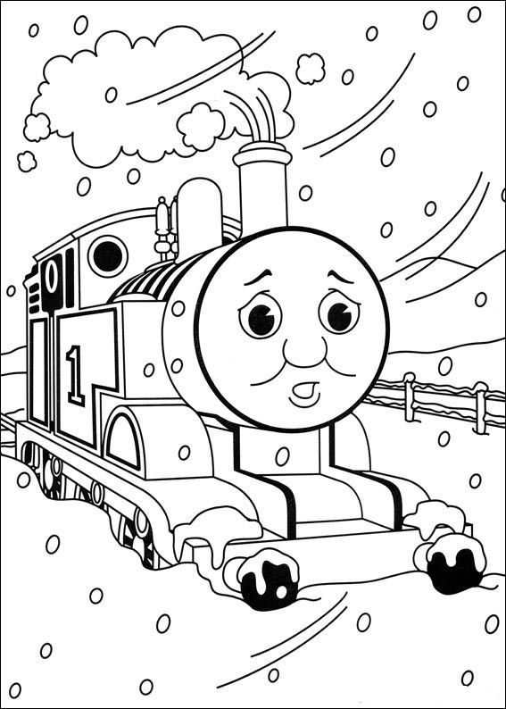 thomas the tank engine coloring pages free printable thomas the ...