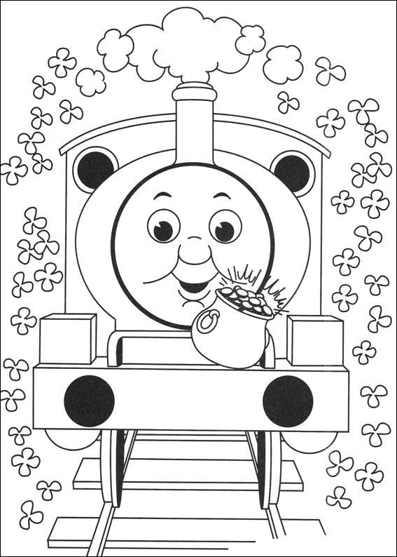 Kids N Fun Co Uk 56 Coloring Pages Of Thomas The Train