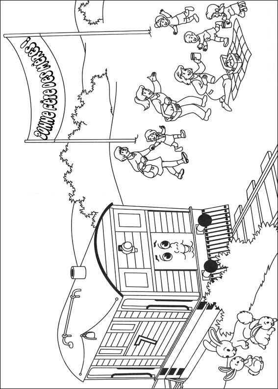 Kids-n-fun.co.uk | 56 coloring pages of Thomas the Train