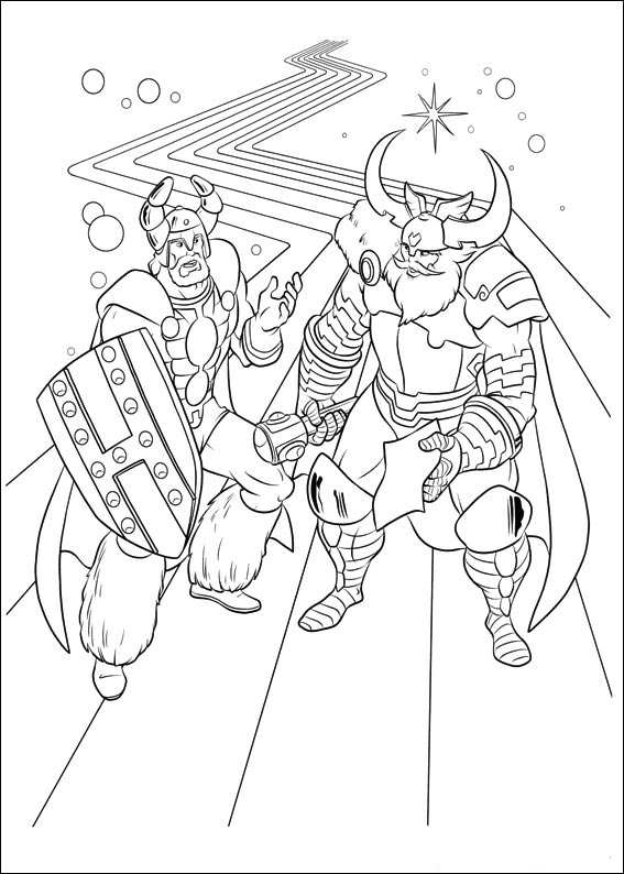 Kidsnfun 34 coloring pages
