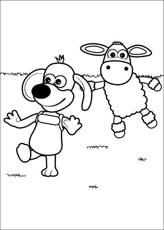 Kids N Fun Co Uk 43 Coloring Pages Of Timmy Time Shaun The Sheep Coloring Pages