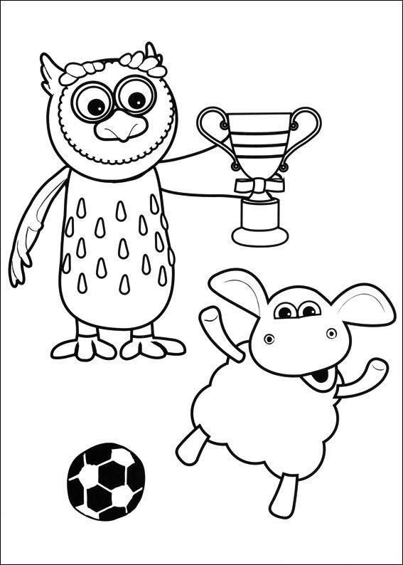 Kids-n-fun.com | 43 coloring pages of Timmy Time