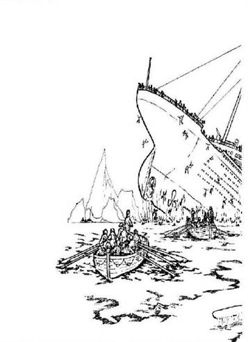 Kids N Fun Com 30 Coloring Pages Of Titanic