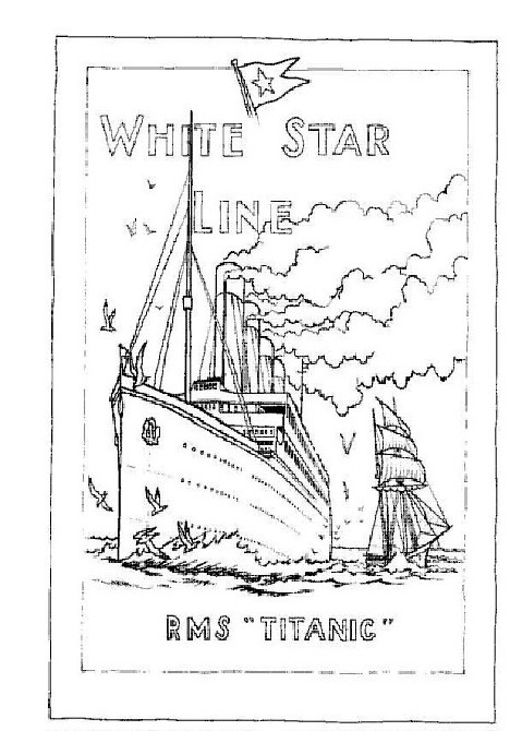 coloring pages titanic-#8