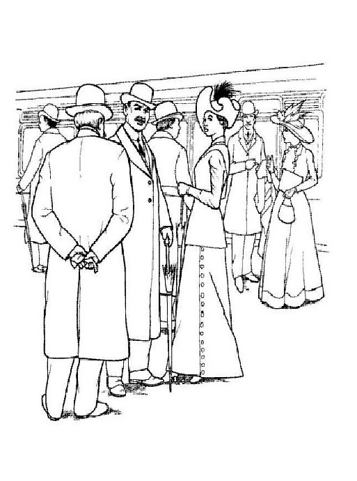 jack and rose coloring pages - photo#12
