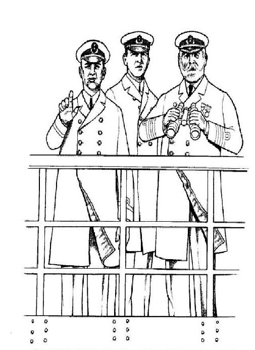 titanic coloring pages for adults | Kids-n-fun.com | 30 coloring pages of Titanic