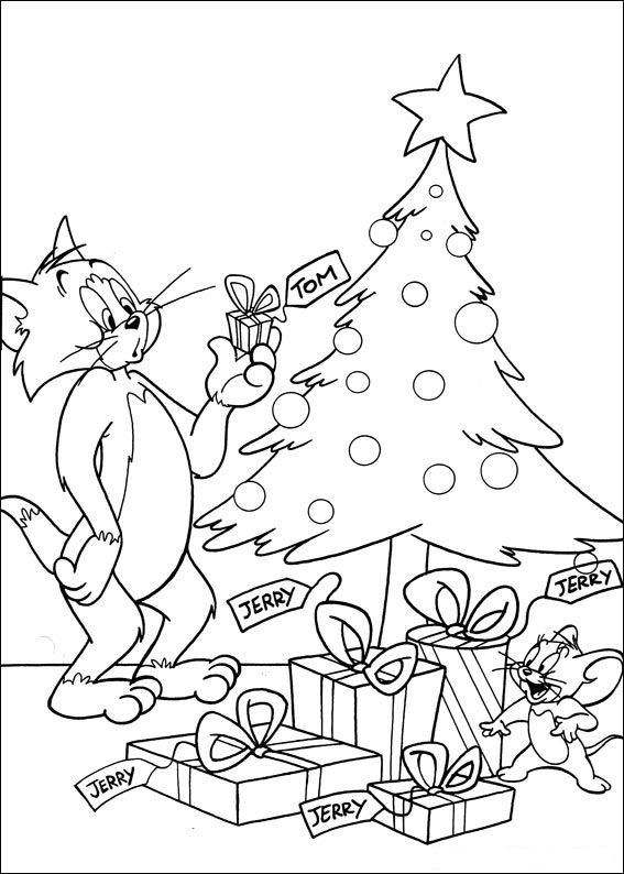 Kids N Fun Com 43 Coloring Pages Of Tom And Jerry