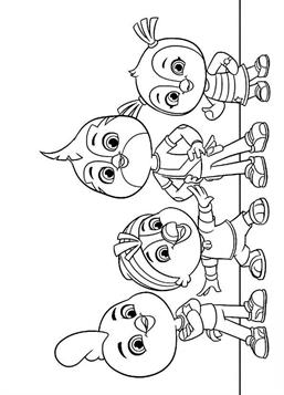 Kids N Fun Com 12 Coloring Pages Of Top Wing