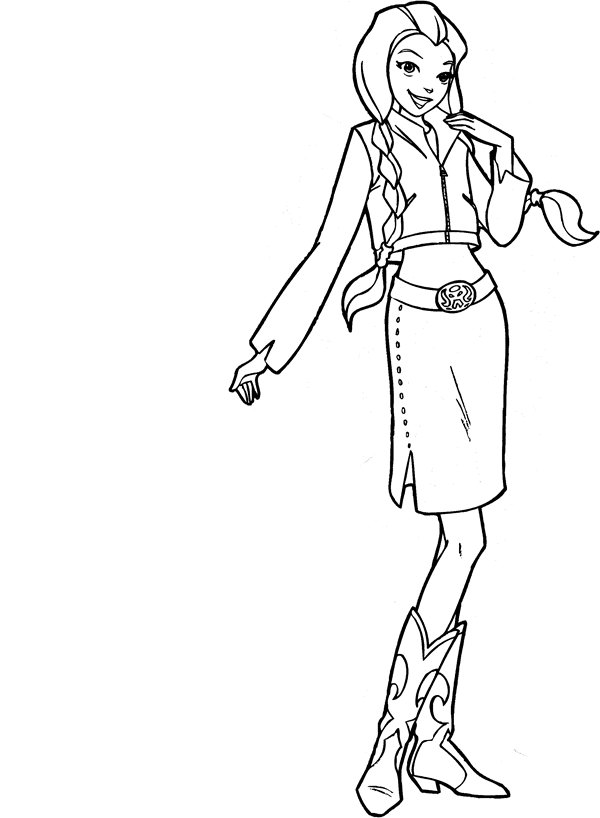 Kids-n-fun.com | 38 coloring pages of Totally Spies