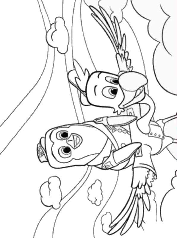 Kids N Fun Com Coloring Page Tots T O T S Pip Freddy