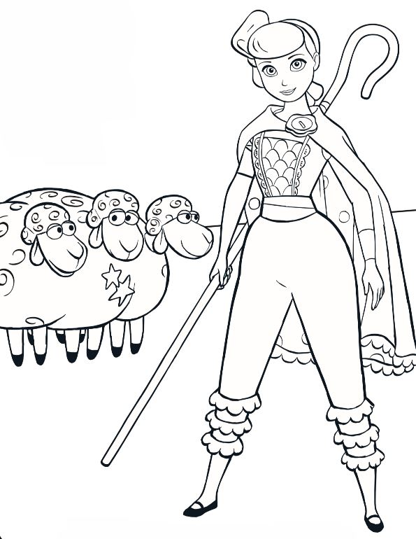 Kids-n-fun.com | Coloring page Toy Story 4 Toy Story 4