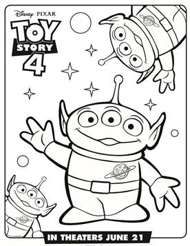101 Toy Story Coloring Pages (July 2020)...Woody Coloring Pages too... | 357x276