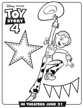 Kids N Fun Com 17 Coloring Pages Of Toy Story 4