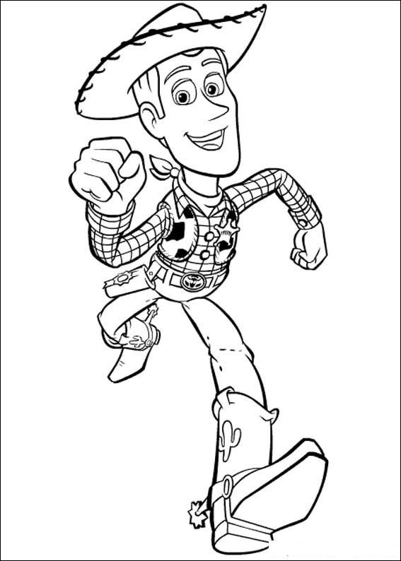 Kidsnfuncom 97 coloring pages of Toy Story