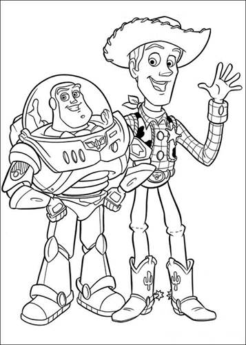 Kids N Fun Com 34 Coloring Pages Of Toy Story 3
