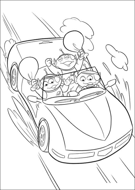 Kidsnfuncom  34 coloring pages of Toy Story 3