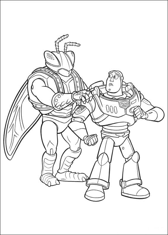 Kids-n-fun.co.uk | 34 coloring pages of Toy Story 3