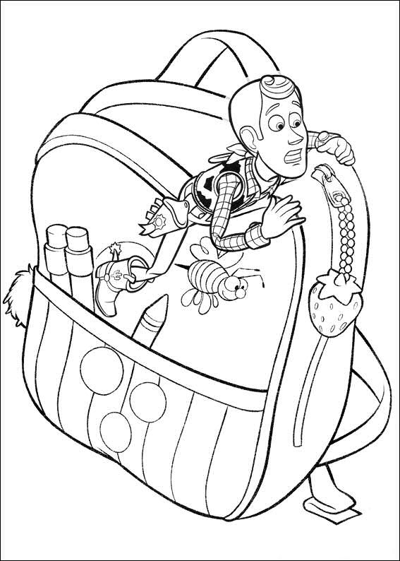 toy story 3 free coloring pages | Kids-n-fun.com | 34 coloring pages of Toy Story 3