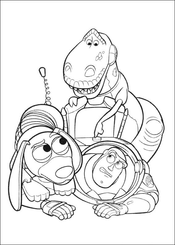 Kids n 34 coloring pages of toy story 3 - Coloriage toy story 3 ...