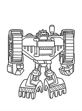 Kids-n-fun.com | 31 coloring pages of Transformers Rescue Bots