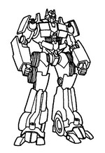Kidsnfun 33 coloring pages of Transformers