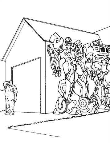 Kids-n-fun.com 33 Coloring Pages Of Transformers
