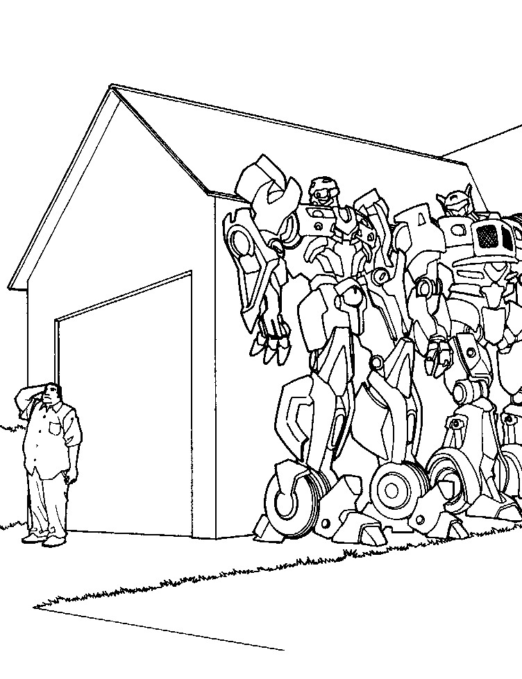 33 transformers coloring pages - Transformers Coloring Pages