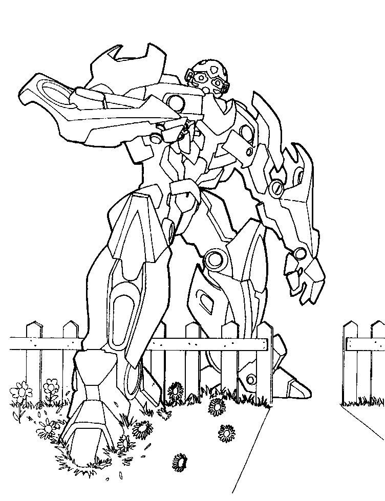 transformer coloring pages free - photo#19