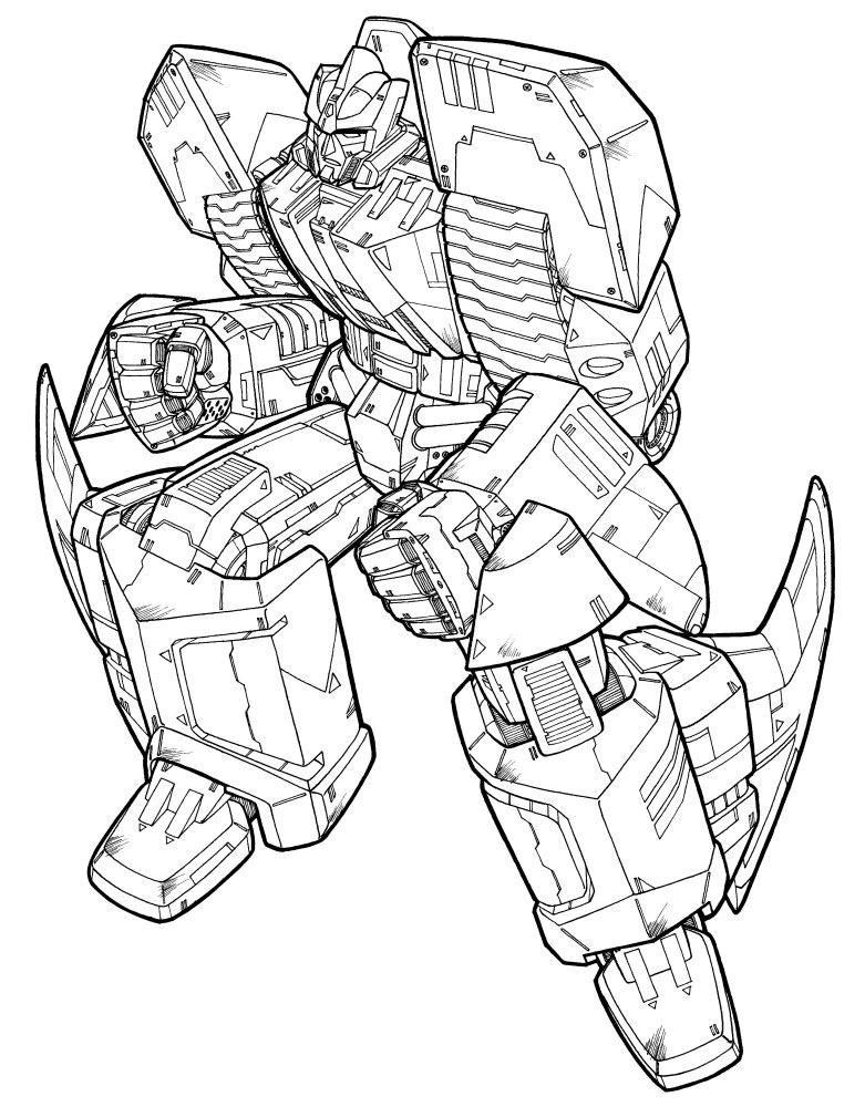 transformers - Transformers Coloring Book