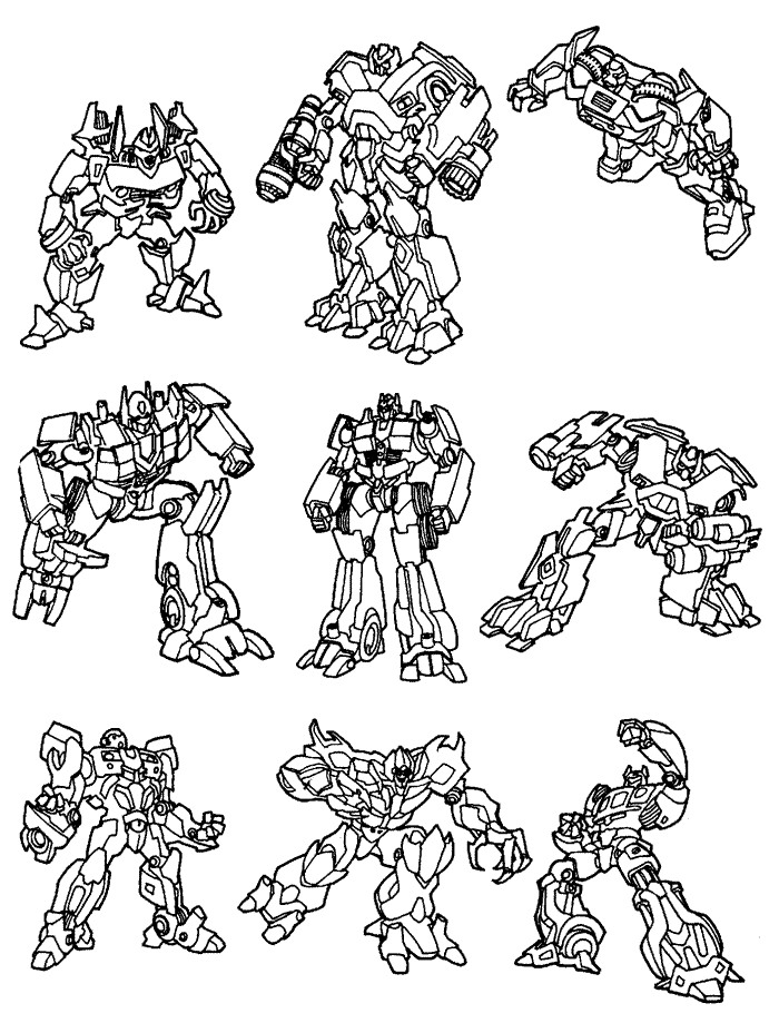 transformers - Transformers Coloring Pages